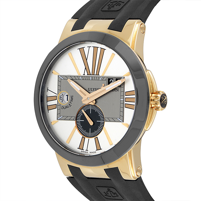 Shop Ulysse Nardin Executive Dual Time Ladies 40mm 243 10 3 391 For Only 7 630 00 At Luxurybazaar Com