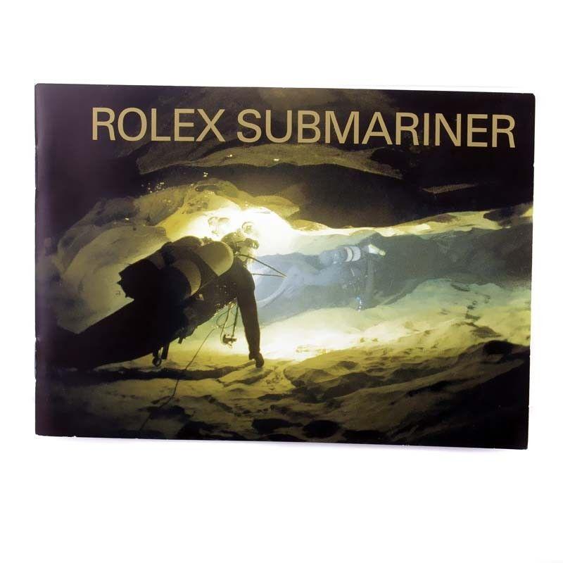 Vintage English Submariner Instruction Manual
