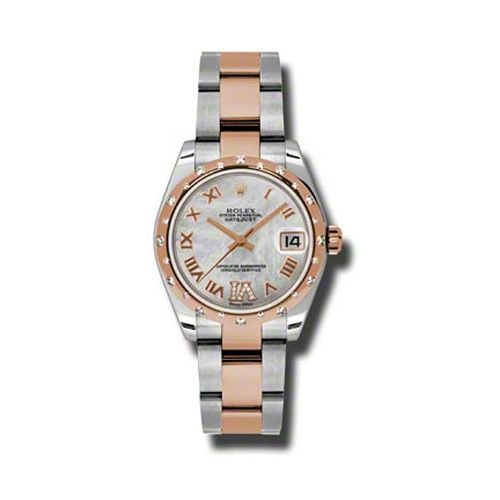 Oyster Perpetual Datejust 31mm Diamond Fluted Bezel 178341 mdro