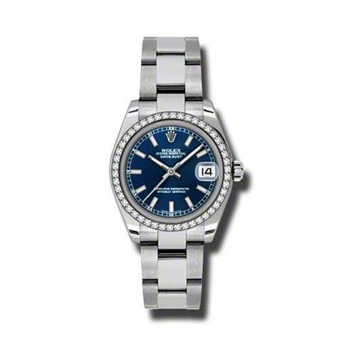 Oyster Perpetual Datejust 31mm Diamond Bezel 178384 blio
