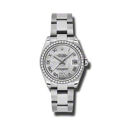 Oyster Perpetual Datejust 31mm Diamond Bezel 178384 mdro