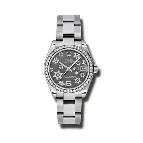 Oyster Perpetual Datejust 31mm Diamond Bezel 178384 rfo