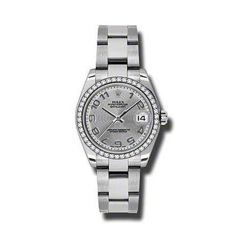 Oyster Perpetual Datejust 31mm Diamond Bezel 178384 scao