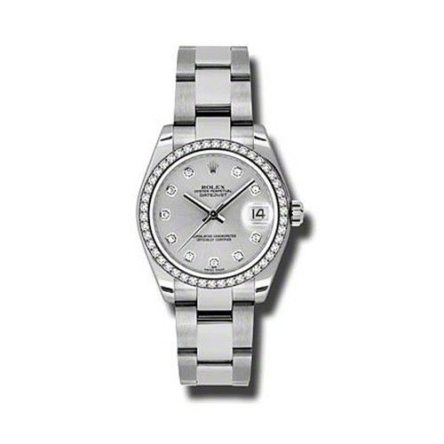 Oyster Perpetual Datejust 31mm Diamond Bezel 178384 sdo