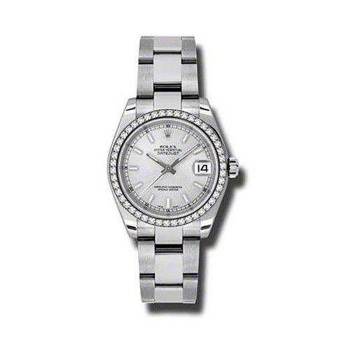 Oyster Perpetual Datejust 31mm Diamond Bezel 178384 sio