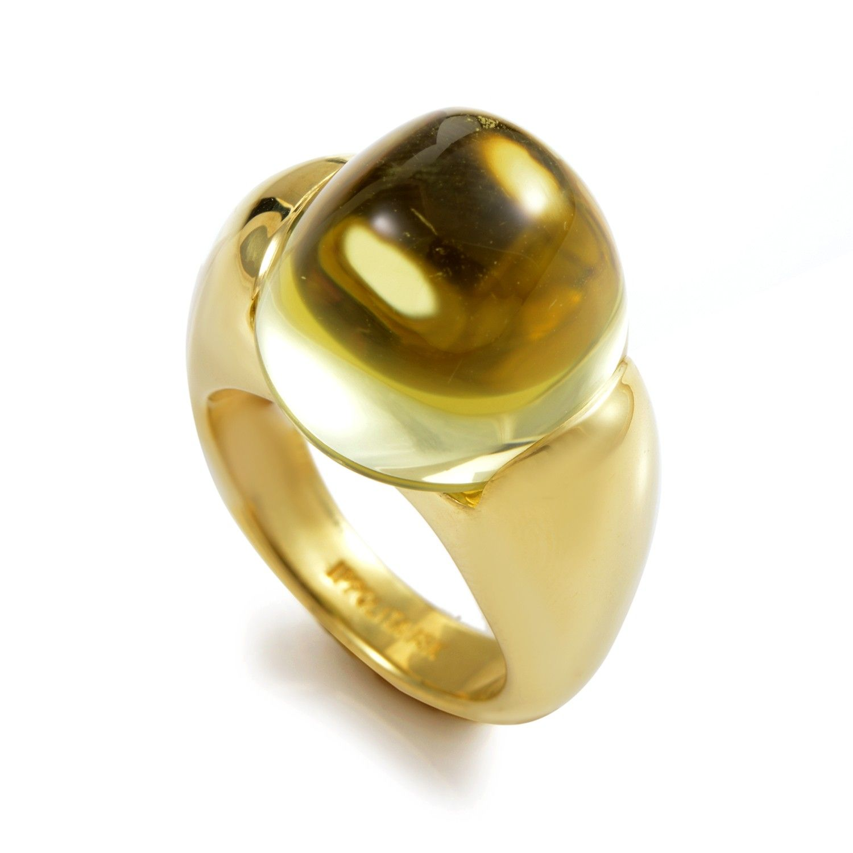 Ippolita 18K Yellow Gold Lemon Quartz Ring