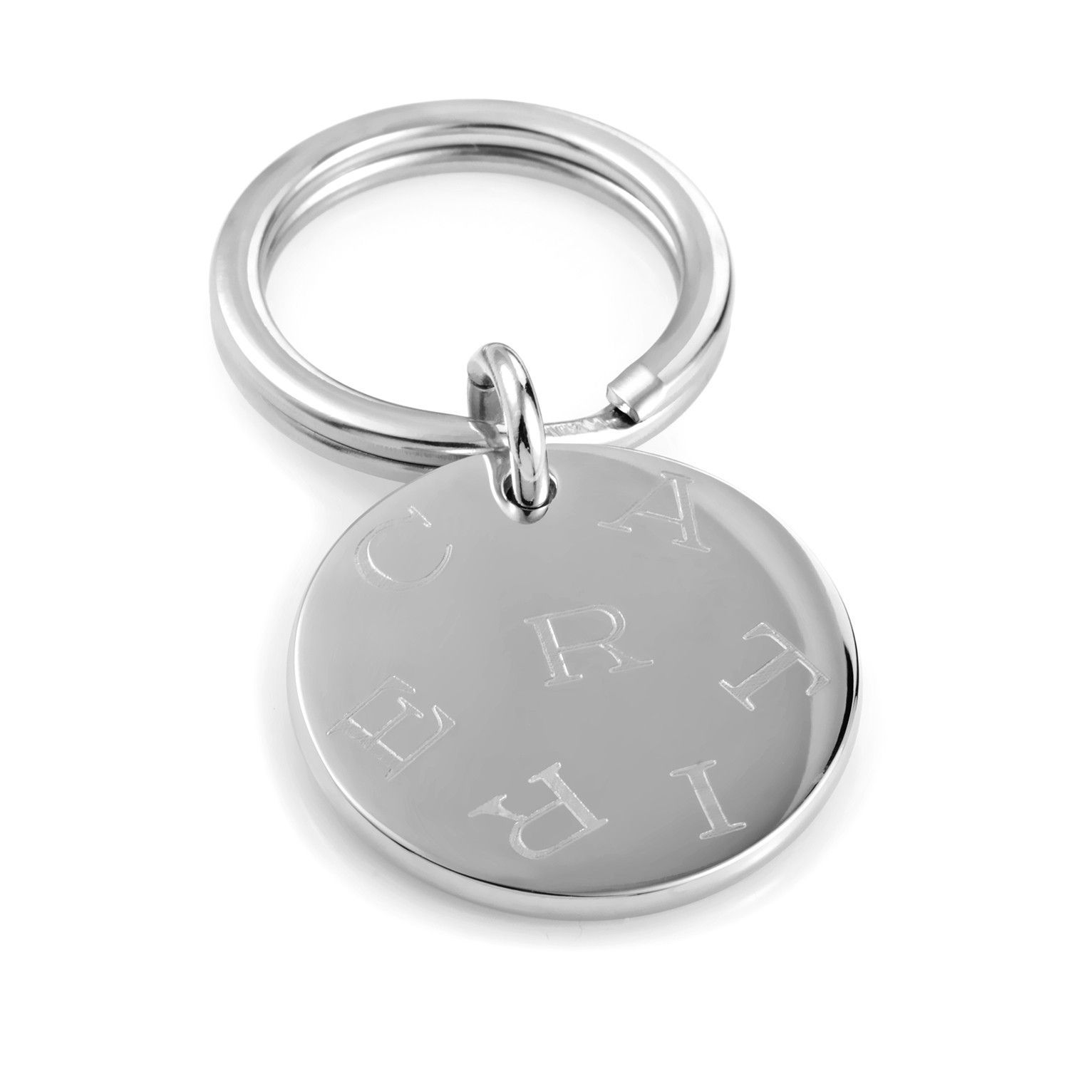 Stainless Steel Keyring T1220154