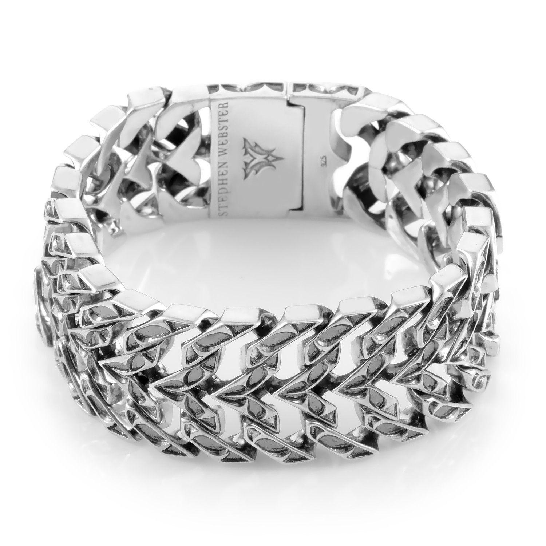 Sterling Silver Double Curb Bracelet