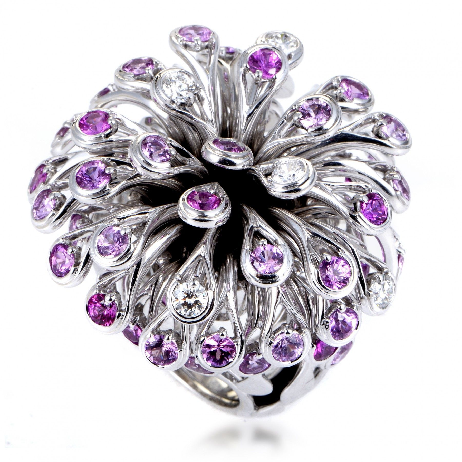 diamond gems jewellery just ring gallery piece custom fine sapphire lilac