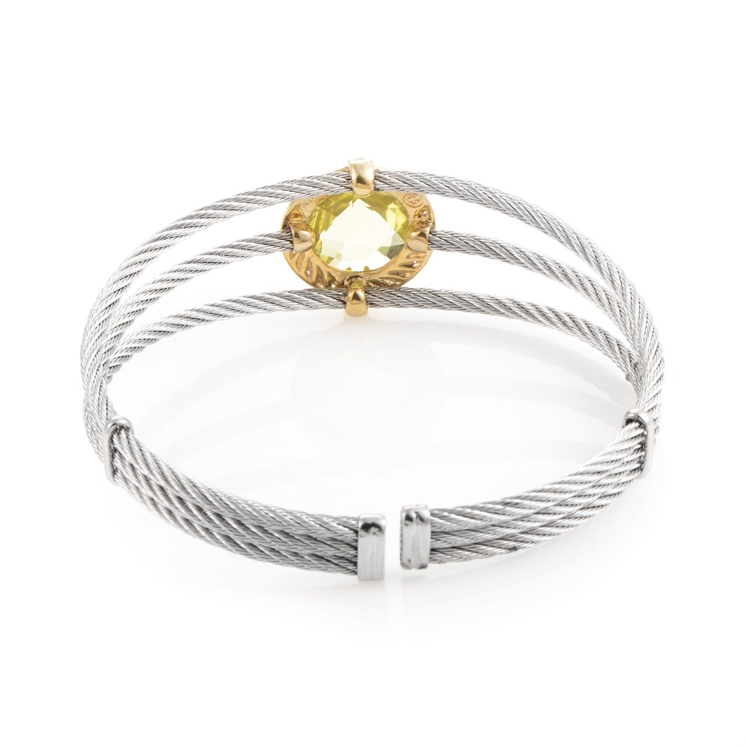 charriol celtic classique stainless steel yellow gold
