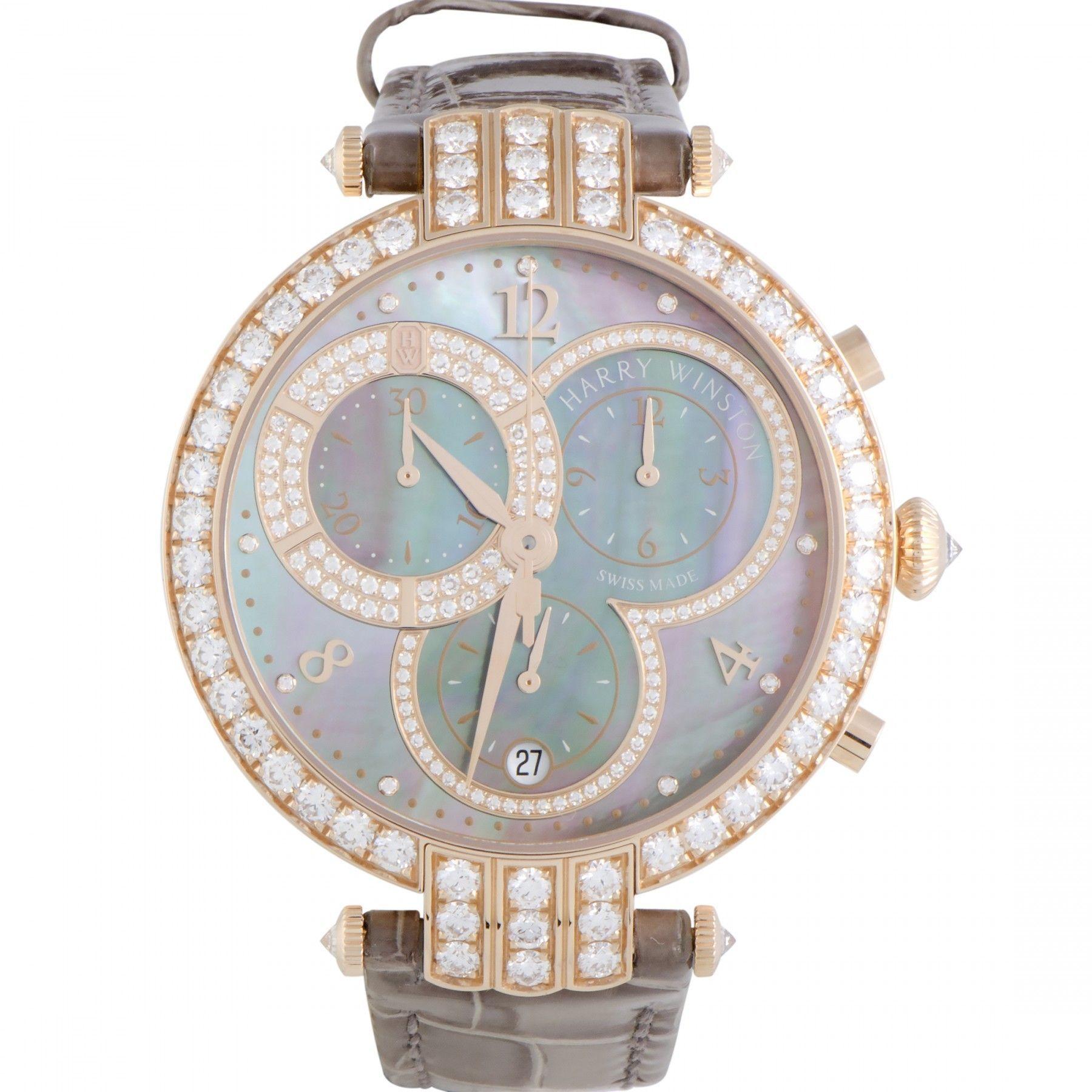 Harry Winston Premier Ladies Chronograph Watch PRNQCH40RR002