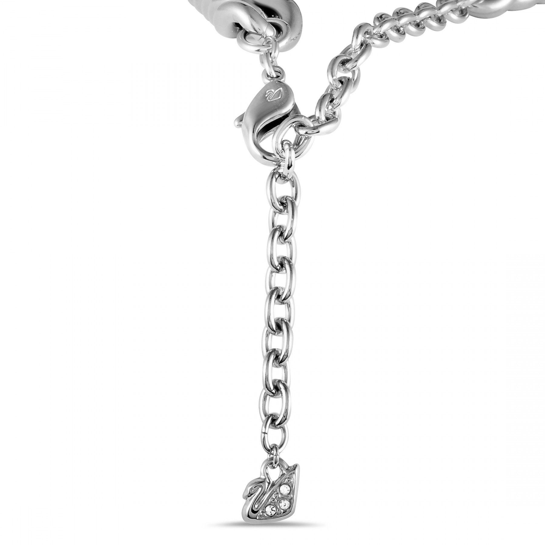 swarovski bound crystal pave necklace