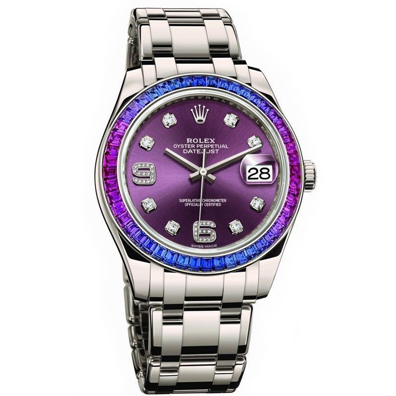Oyster Perpetual Datejust Pearlmaster 39 Womens Watch 86349SAFUBL