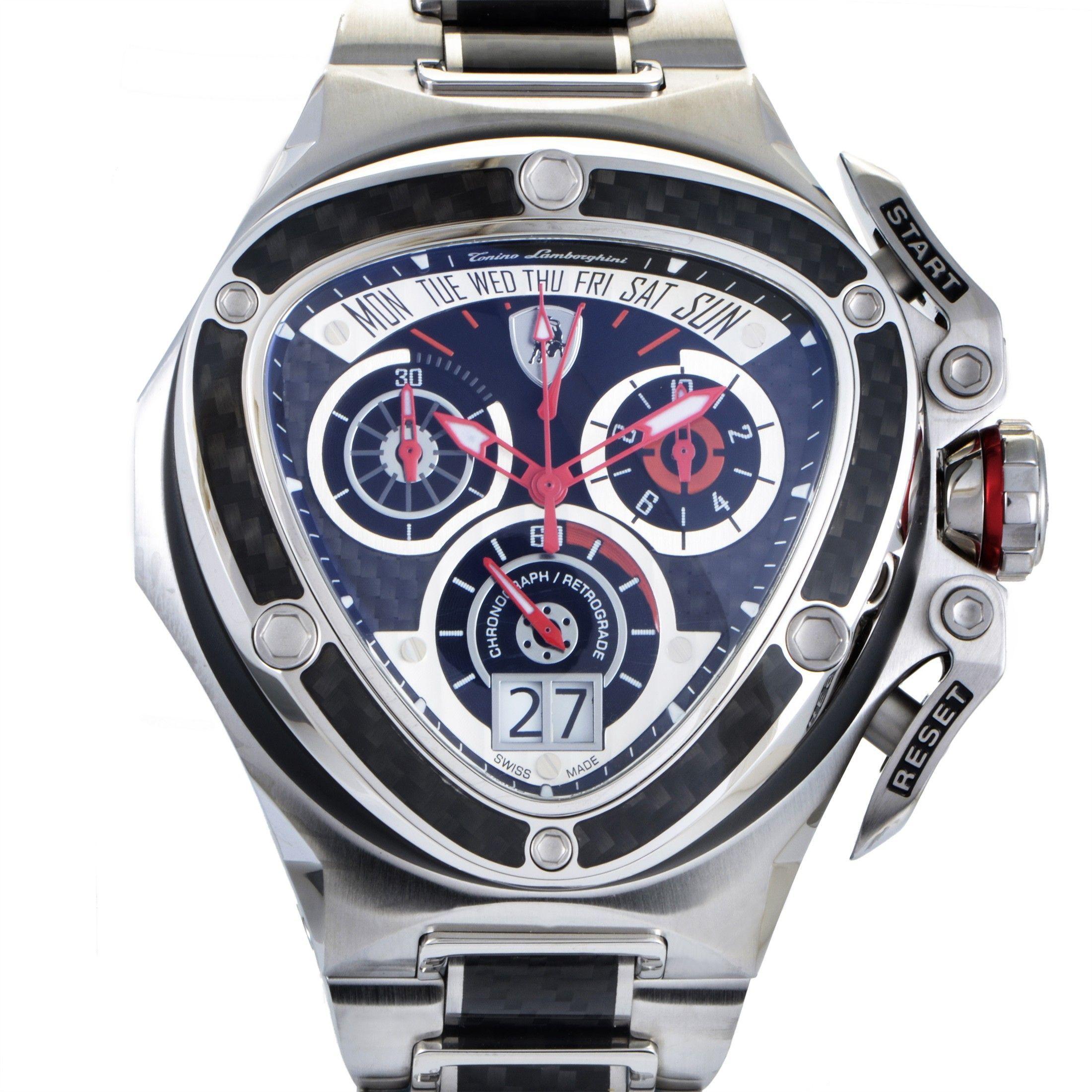 Shop Tonino Lamborghini Spyder Chronograph Quartz Watch 3019 Tl 3019