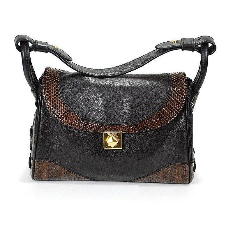 Escapade VII Santa Fe Dark Brown Leather Handbag BAGCNLECO.44.003