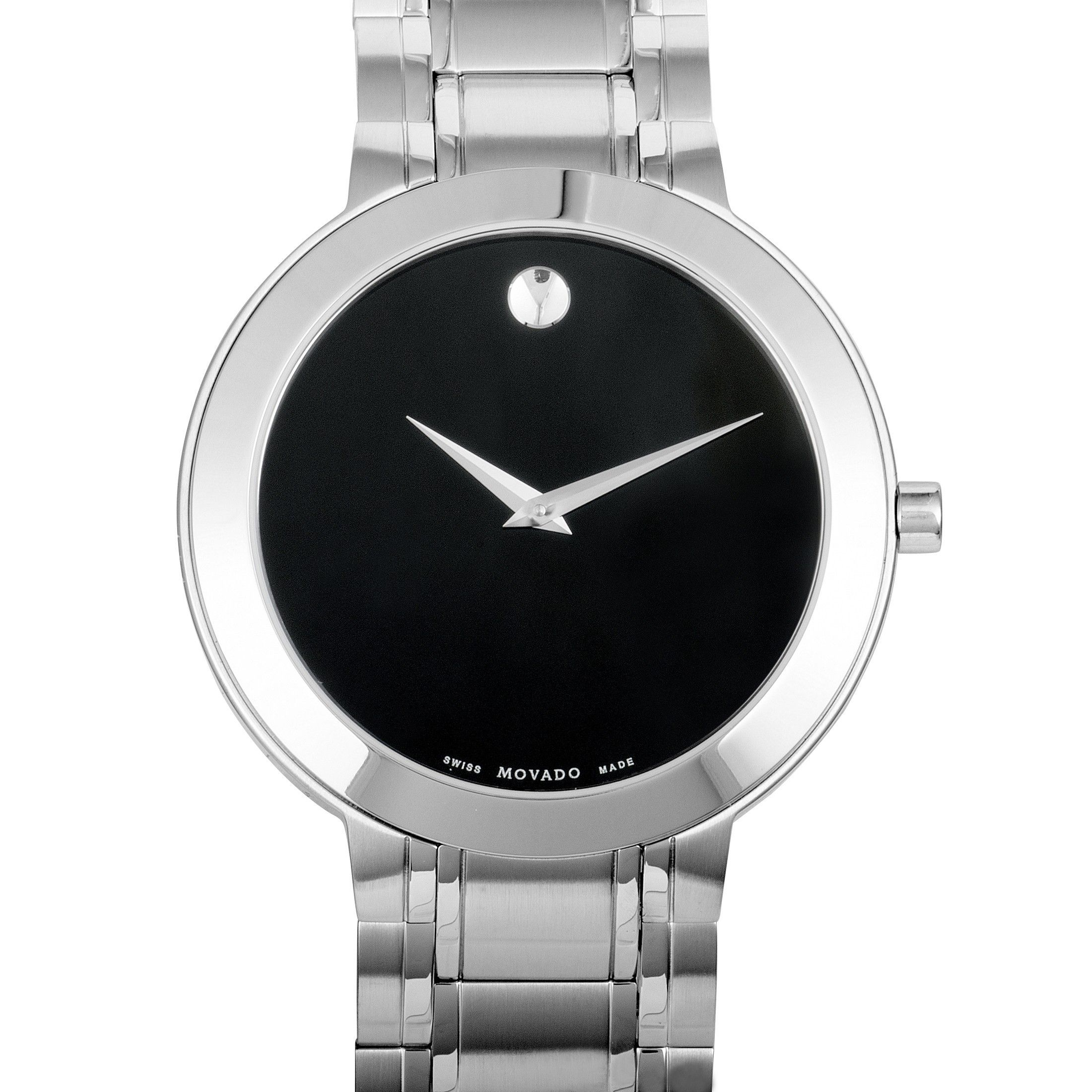 e7d9751ad ovado Stiri Stainless Steel Black Dial Watch 0607277 | Luxury Bazaar ...