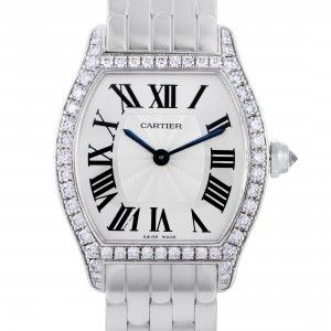 Cartier Tortue Womens Manual Wind Watch WA501011