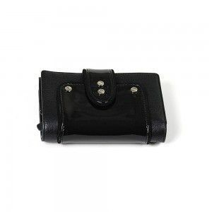 Charriol Escapade VIII Black Leather Wallet SLGLECO.1111.9214