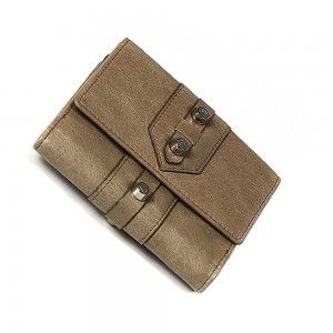 Charriol Olympia Brown Calfskin Wallet SLGOLIMCO.44.9109