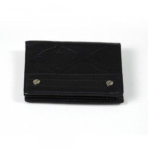 Charriol Escapade VI Black Stamped Wallet SLGSTAMCO.11.9212