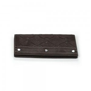 Charriol Escapade VI Brown Stamped Wallet SLGSTAMCO.44.9010