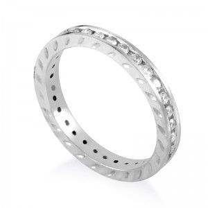 ~.50ct Platinum Diamond Eternity Band Ring