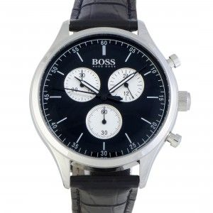 Hugo Boss Companion 42mm Men's Watch Black 1513543