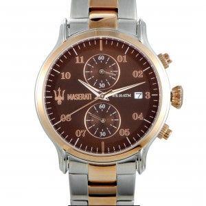 Maserati Epoca Chronograph Brown Dial Watch R8873618001