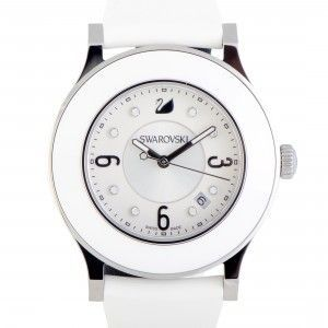 Swarovski Octea Classica White Rubber Watch 5099356