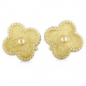 Van Cleef & Arpels Vintage Alhambra 18K Yellow Gold Clip-on Earrings