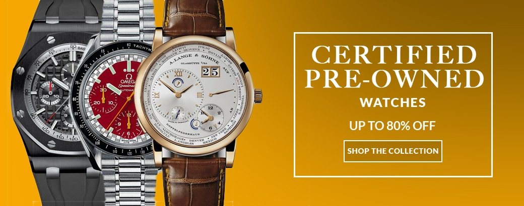 Certified Pre-Owned Watch Sale